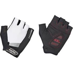 GripGrab SuperGel Short Finger Padded Gloves white